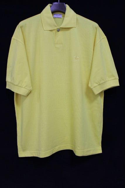 ヴェルサーチ [ VERSACE ] メドゥーサ ポロシャツ イエロー 黄色 半袖 SIZE[XL相当] メンズ トップス カットソー ベルサーチ