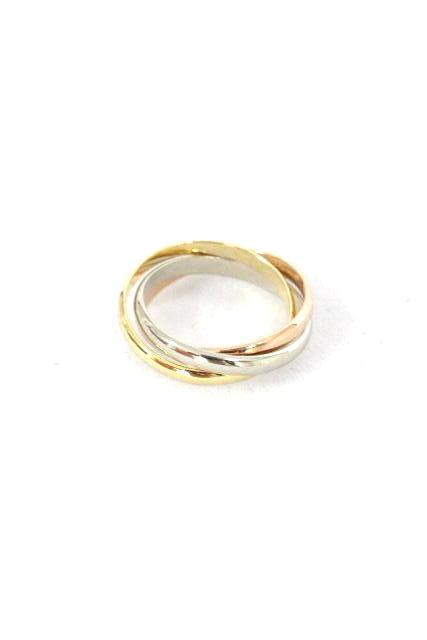 カルティエ [ Cartier ] スリーカラー トリニティリング K18 SIZE[11号] レディース 新品仕上げ済み 指輪