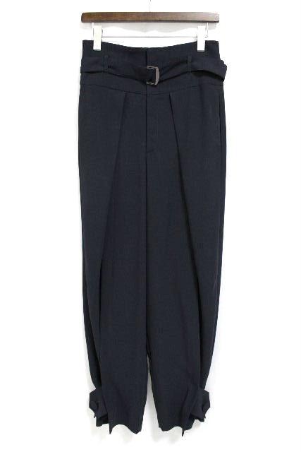 アドーア [ ADORE ] ハイウエスト テーパードパンツ ネイビー 紺色 SIZE[38] レディース ボトムス パンツ
