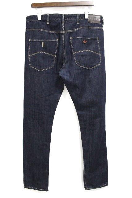 アルマーニジーンズ [ ARMANI ] 濃紺デニムパンツ J26 Antifit Low Crotch SIZE[32] メンズ ボトムス アルマーニ ジーンズ ジーパン