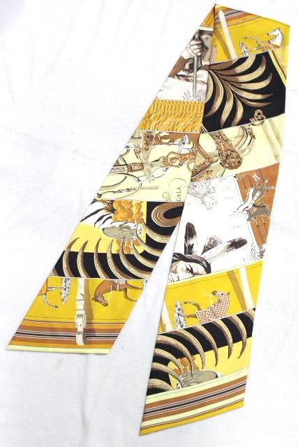 エルメス [ HERMES ] マキシ ツイリー シルク スカーフ [ ANI LASH ] ベルト ショール ストール