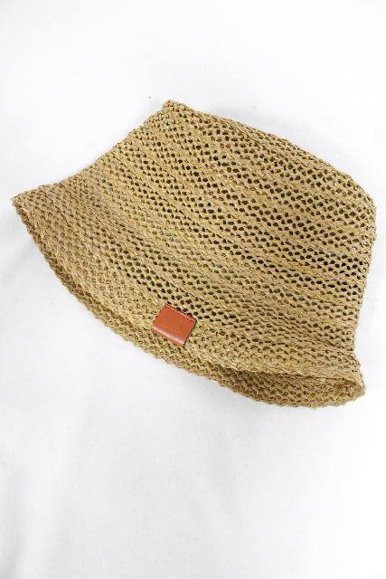グッチ [ GUCCI ] ストローハット SIZE[M] メンズ レディース ハット 麦わら帽子