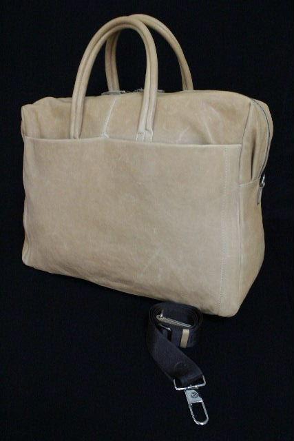 ジョルジオアルマーニ [ ARMANI ] ショルダーストラップ付 レザー ボストンバッグ メンズ アルマーニ トラベルバッグ 旅行バッグ