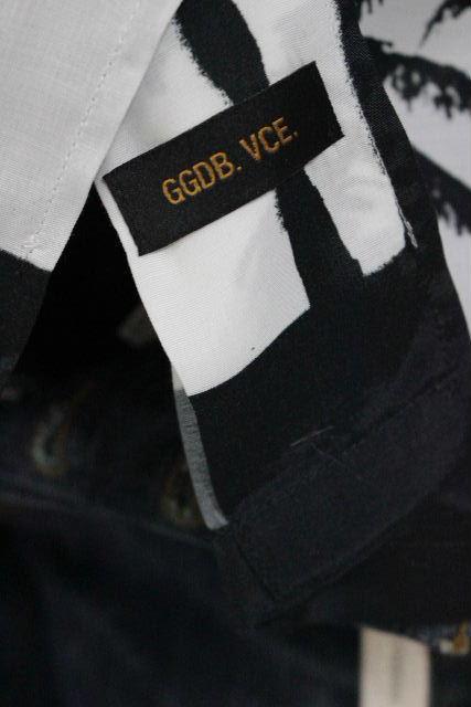 ゴールデングース [ GOLDEN GOOSE ] アロハシャツ ヤシ柄 半袖 SIZE[XS] メンズ トップス カジュアルシャツ
