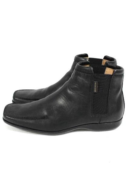 ルイヴィトン [ LOUISVUITTON ] サイドゴアブーツ ブラック 黒 SIZE[6.5] メンズ レザー ブーツ ヴィトン ビトン シューズ 革靴