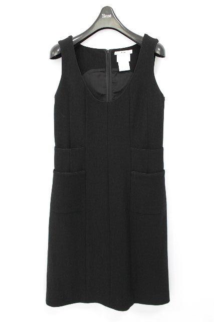ルネ [ Rene ] TISSUE ツイード ワンピース ブラック 黒 SIZE[34] レディース ジャンバースカート ジャンパースカート