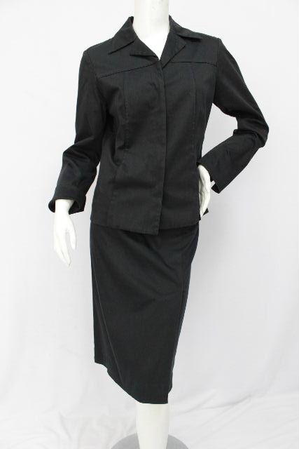 バーバリー [ BURBERRY LONDON ] セットアップ スーツ ブラック 黒 SIZE[42 40] レディース ジャケット スカート