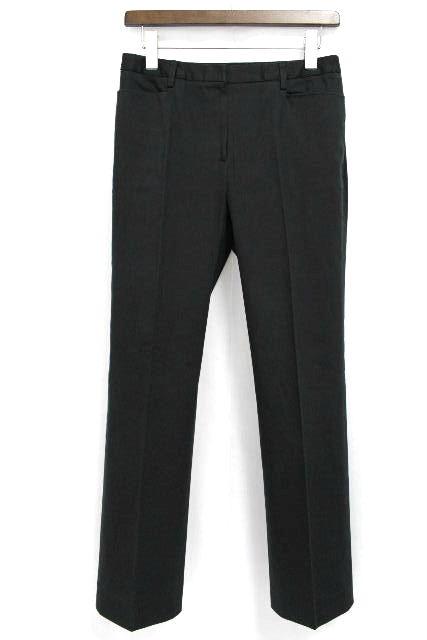 バーバリーロンドン [ BURBERRY ] ストレッチ カジュアルパンツ ブラック 黒 SIZE[40] レディース バーバリー ボトムス