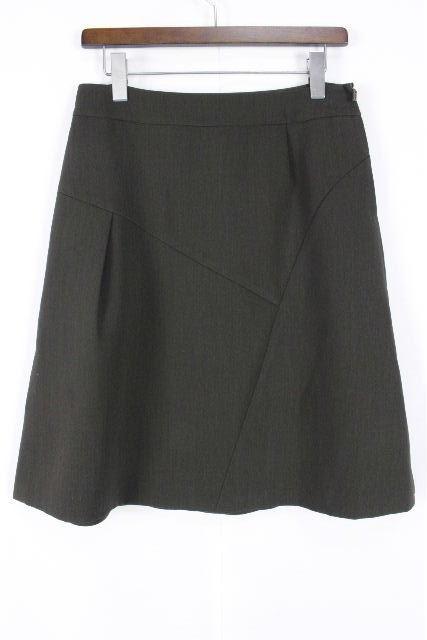 フォクシー [ FOXEY ] フレアースカート カーキ系 SIZE[40] レディース ボトムス スカート