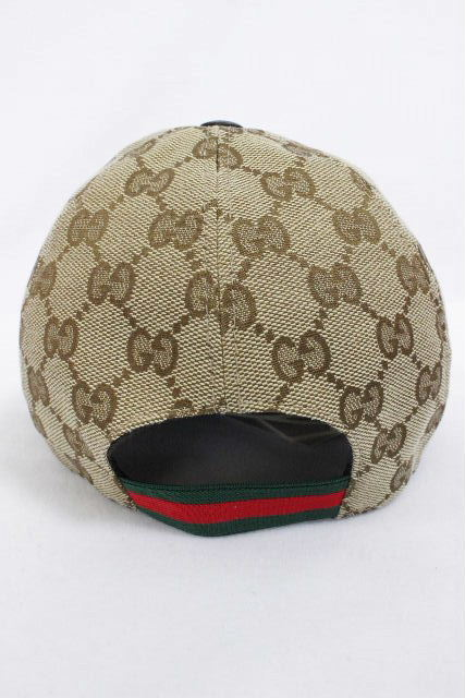 グッチ [ GUCCI ] GG柄×シェリーライン キャップ 帽子 ベージュ SIZE[M] キッズ 子供用 ハット