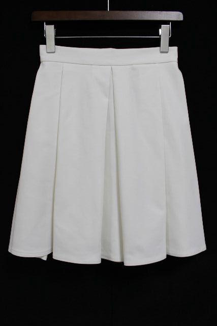 ブルーガール / ブルマリン [ Blugirl ] フレアースカート ホワイト 白 SIZE[38] レディース ボトムス スカート ★定価48000円★