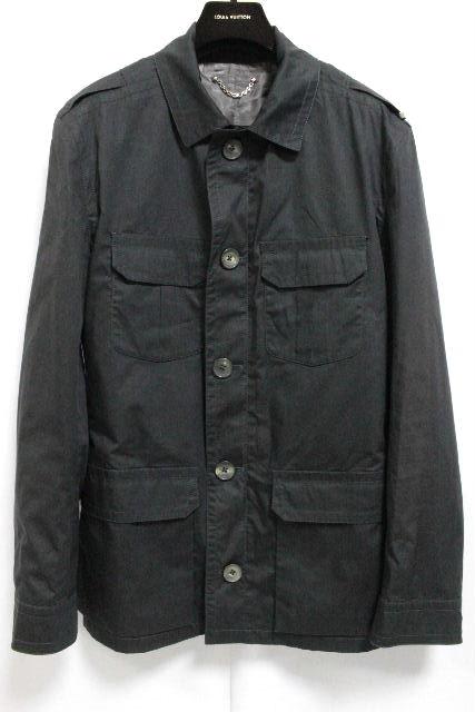 ルイヴィトン [ LOUISVUITTON ] ダミエ ジャケット ブラック 黒 SIZE[48] メンズ コート ビトン ヴィトン