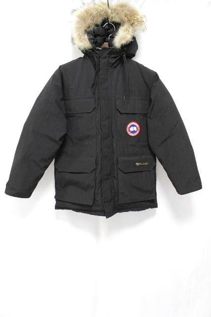 カナダグース [ CANADA GOOSE ] ファー ダウンコート ブラック 黒 SIZE[M/M] メンズ 男性用 アウター ダウンジャケット