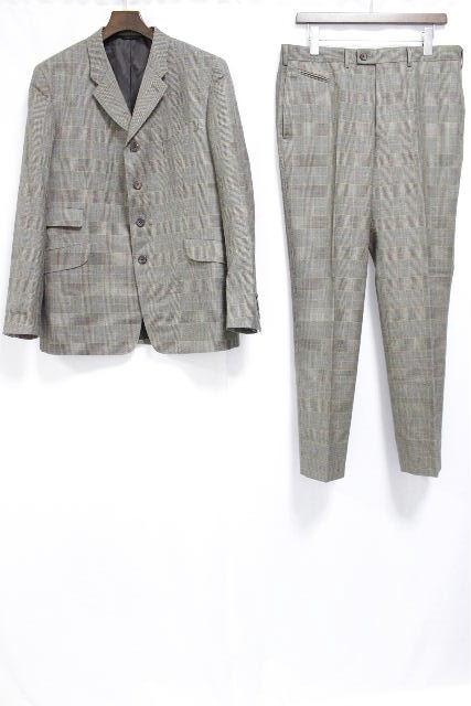 ポールスミス [ PaulSmith ] チェック柄 4B シングル スーツ SIZE[XL] メンズ ジャケット スラックスパンツ セットアップ