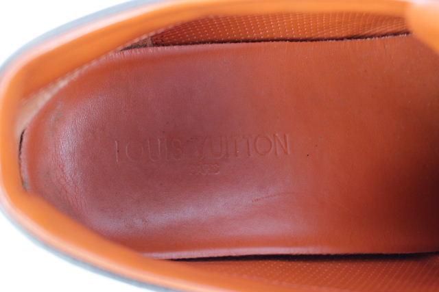 ルイヴィトン [ LOUISVUITTON ] レザー スニーカー ブラウン 茶色 SIZE[7 26cm 26.5cm] メンズ シューズ ヴィトン ビトン 靴