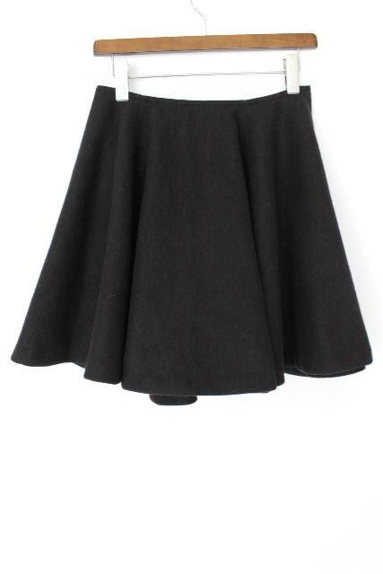 ヨーコチャン [ YOKO CHAN ] フレアースカート ブラック 黒 SIZE[40] レディース ボトムス ウール スカート