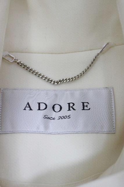 アドーア [ ADORE ] ジャケット コート ホワイト 白 SIZE[36] レディース トップス アウター