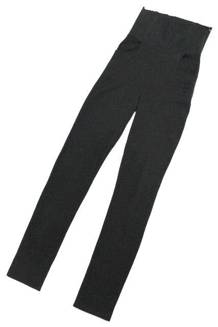 シャネル [ CHANEL ] P46 ココマーク ハイウエスト パンツ ブラック 黒 SIZE[38] レディース ボトムス ストレッチ