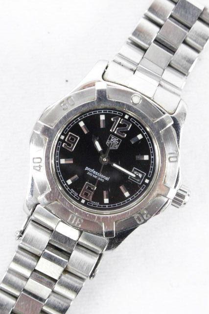 タグホイヤー [ TAG Heuer ] プロフェッショナル200m エクスクルーシブ 腕時計 シルバー レディース WN1310 BK文字盤 ダイバーズウオッチ