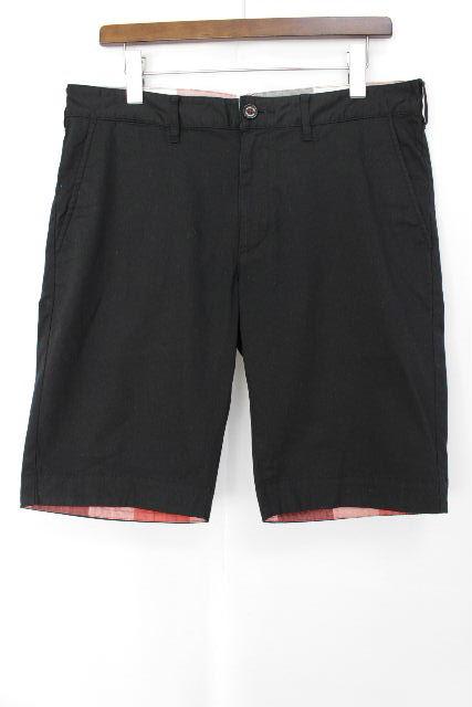 ブラックレーベルクレストブリッジ ハーフパンツ 黒×チェック柄 SIZE[82] メンズ ボトムス ショートパンツ 短パン