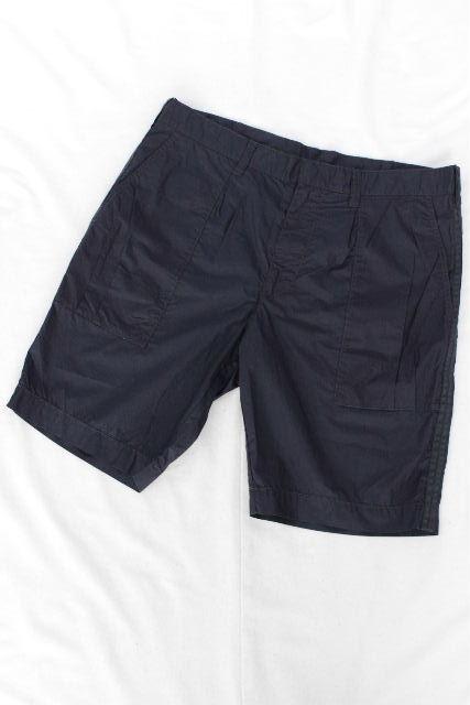 エンポリオアルマーニ [ ARMANI ] イーグル ショートパンツ ネイビー 紺色 SIZE[50] メンズ ボトムス アルマーニ ハーフパンツ 短パン