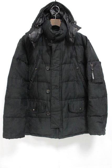 デュベティカ [ DUVETICA ] N-3B カモフラ ダウンコート ブラック 黒 Eracle SIZE[48] メンズ アウター ダウンジャケット カモフラ 迷彩柄