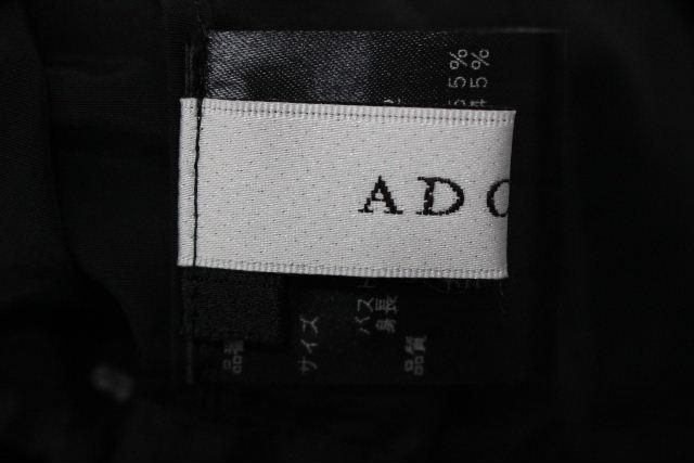 アドーア [ ADORE ] ナイロン リボン プルオーバー ブラウス ブラック 黒 SIZE[38] レディース トップス シャツ