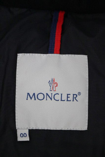 モンクレール [ MONCLER ] フード ダウンジャケット シャイニー ピンク BADIA SIZE[00] レディース アウター デカワッペン バディア