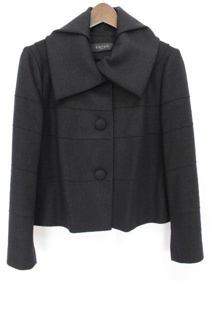 コトゥー [ COTOO ] ショート コート ブラック 黒 SIZE[38] レディース トップス アウター ジャケット