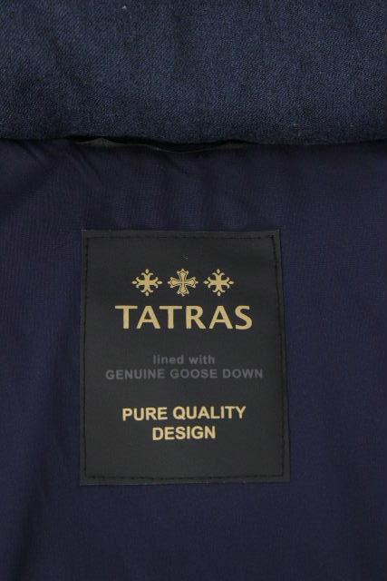 タトラス [ TATRAS ] ウール フード フレアーダウンコート ネイビー系 SIZE[02] レディース アウター LTA7TM4425 POLTEAMA
