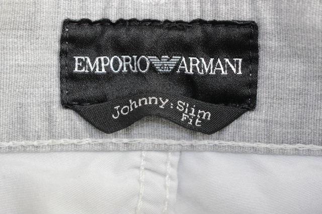 エンポリオアルマーニ [ ARMANI ] Johnny イーグル スリムフィット パンツ グレー SIZE[29] メンズ アルマーニ ボトムス ジーンズ