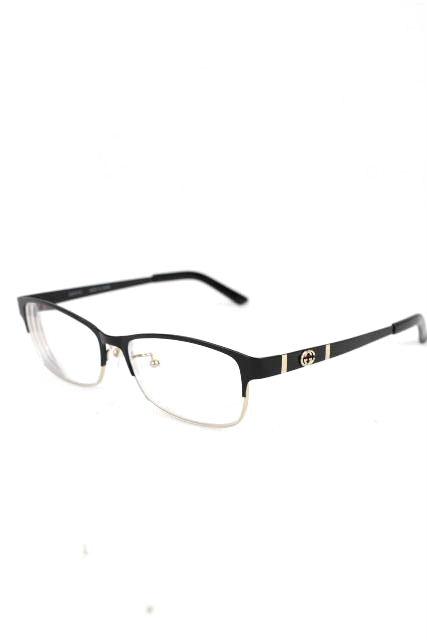 グッチ [ GUCCI ] チタン GG眼鏡フレーム ブラック 黒 [ GG9692/J UWX 54 15 ] メンズ レディース めがね メガネ