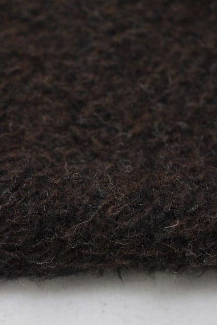 エルメス [ HERMES ] リバーシブル ウール コート ブラウン×グレー系 SIZE[36] レディース アウター ジャケット カーディガン