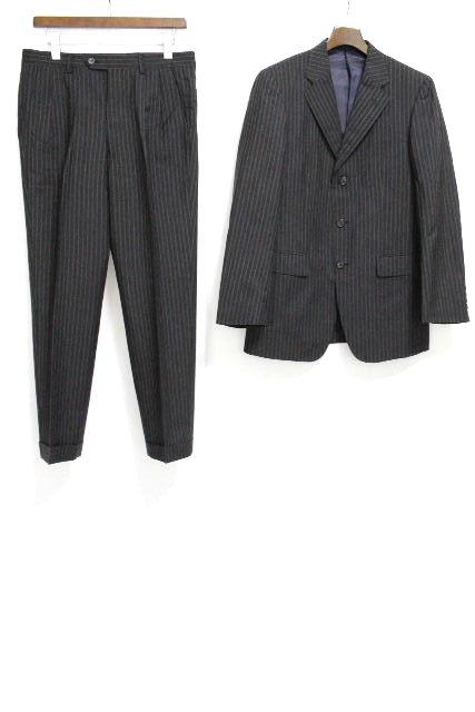 ポールスミス [ Paul Smith ] 3B ストライプ ウール シングル スーツ グレー SIZE[L] メンズ ジャケット スラックスパンツ