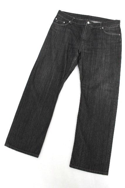 ルイヴィトン [ LOUISVUITTON ] LV刺繡 モノグラム デニムパンツ SIZE[48] メンズ ヴィトン ビトン ボトムス ジーンズ Gパン