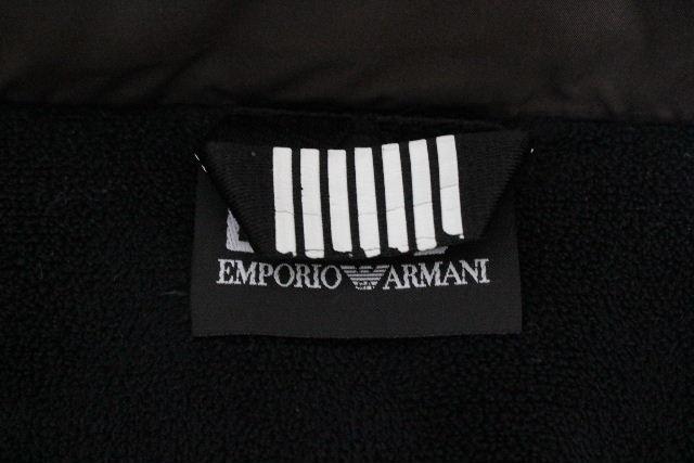 EA7 エンポリオアルマーニ [ EMPORIO ARMANI ] ファー ロング ダウンコート ブラウン系 SIZE[S] レディース アルマーニ フレアーダウンジャケット