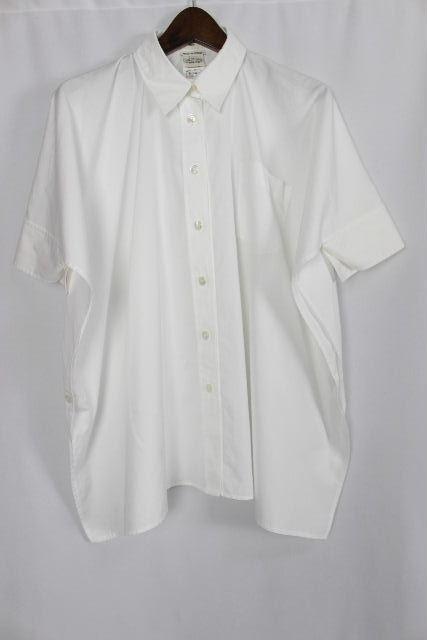 エルメス [ HERMES ] 現行タグ ブラウス ホワイト 白 半袖 SIZE[36] レディース トップス シャツ