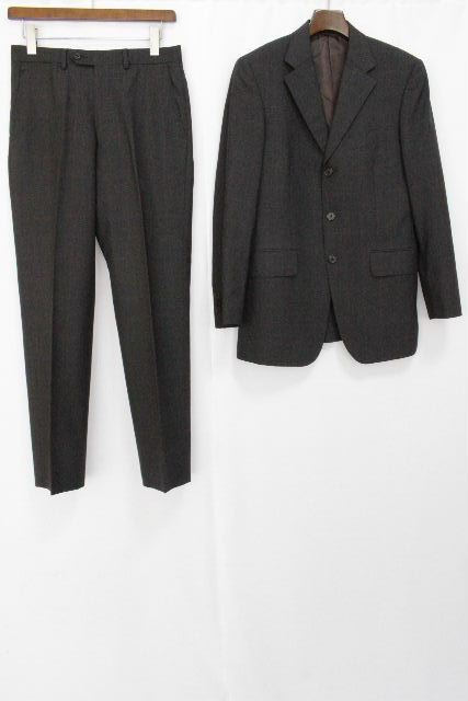 ポールスミス [ Paul Smith ] ETHOMAS チェック柄 3B ウール スーツ グレー SIZE[S] メンズ ジャケット スラックスパンツ
