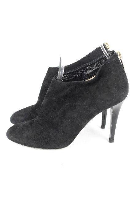 ジミーチュウ [ JIMMYCHOO ] スゥエード ショートブーツ ブラック 黒 SIZE[36] レディース パンプス ブーティ ブーティー 23cm