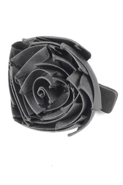 アッカ [ acca ] バラバレッタ ブラック 黒 レディース ヘアアクセサリー ヘアアクセ ヘアクリップ 薔薇