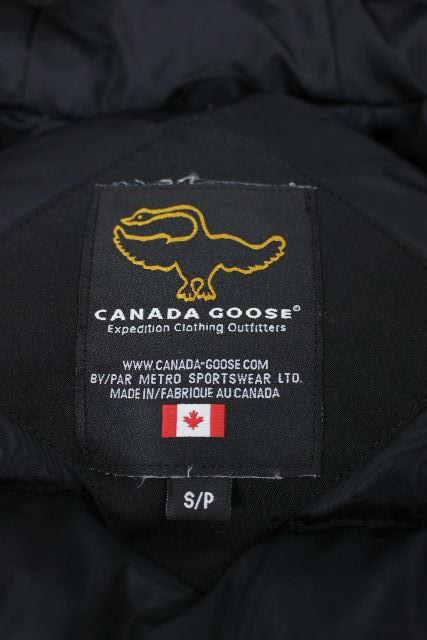 カナダグース [ CANADA GOOSE ] チリワック ブラック 黒 7950JM SIZE[S/P] メンズ ファー ダウンジャケット ブルゾン ジャンパー