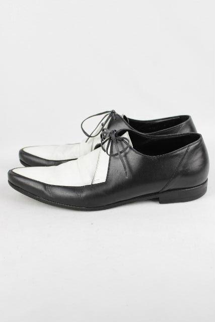 ディオールオム [ Dior Homme ] バイカラー ドレスシューズ ブラック ホワイト SIZE[41.5] メンズ ディオール シューズ ローファー