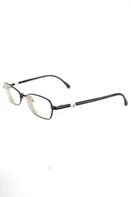 シャネル [ CHANEL ] ココマーク パール 眼鏡フレーム ブラック 黒 [ 2166-H-A 101] レディース メガネ めがね
