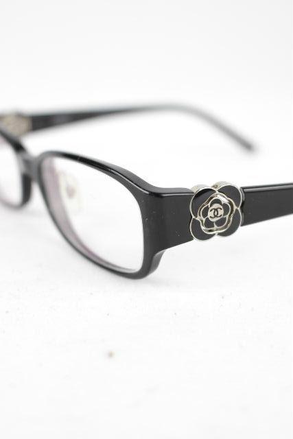 シャネル [ CHANEL ] ココマーク カメリア 眼鏡フレーム ブラック[BC1172847] レディース メガネ めがね 老眼鏡