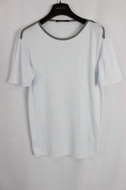 ルイヴィトン [ LOUISVUITTON ] LVロゴ Tシャツ ブルー 半袖 SIZE[XL] メンズ ヴィトン ビトン トップス カットソー