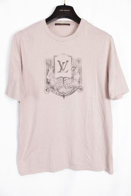 ルイヴィトン [ LOUISVUITTON ] LVロゴ Tシャツ 半袖 SIZE[XS] メンズ トップス ヴィトン ビトン カットソー