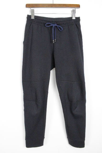 フェンディ[FENDI] 18ss モンスター ジョガーパンツ ネイビー 紺色 SIZE[46] メンズ スウェットパンツ ジャージパンツ