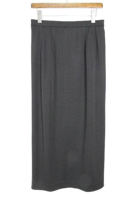 レオナール [ LEONARD ] ロゴ ストレッチ ロングスカート ブラック 黒 SIZE[70] レディース ボトムス マキシ スカート