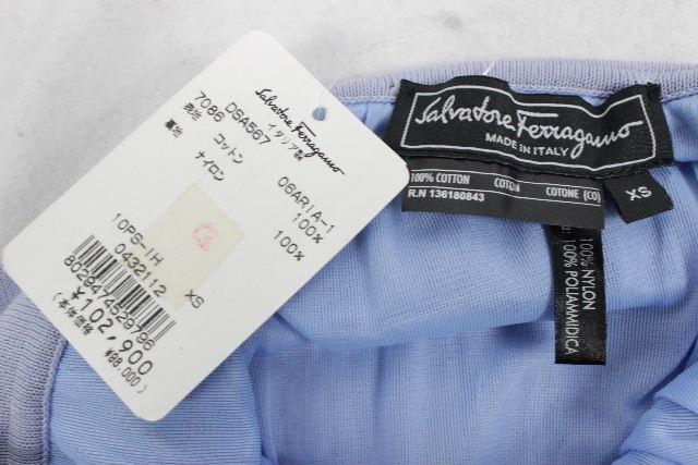 フェラガモ[Ferragamo] ★定価102900円★ ニット スカート ブルー系 SIZE[XS] レディース ボトムス フレアースカート