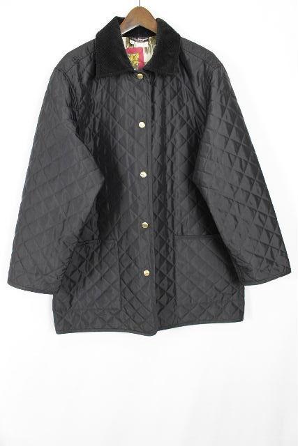 フェラガモ [ Ferragamo ] スカーフ キルティング 中綿 ダウン コート SIZE[M] レディース トップス アウター